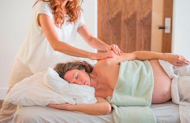 Можно ли делать массаж беременной женщине