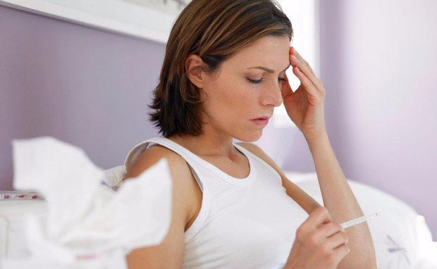 Почему при простуде нет температуры а внутри жар