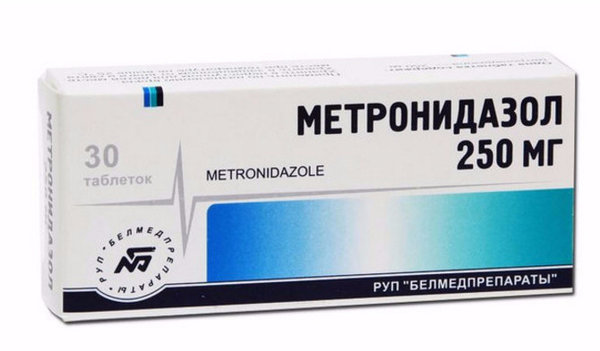 Метронидазол при дисбактериозе