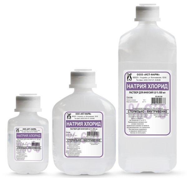 Натрия хлорид для промывания носа от насморка (промывка носа)