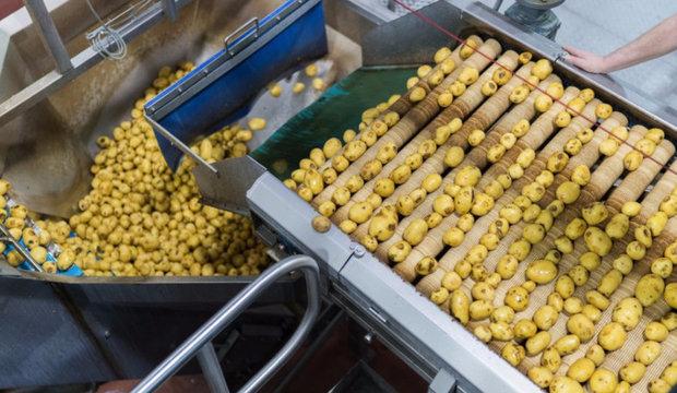 Очистка картофеля
