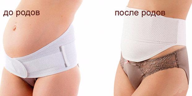 Сколько носить бандаж после естественных родов