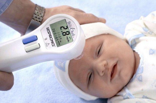Почему у новорожденного высокий билирубин