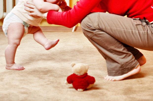 как научить ребёнка ходить