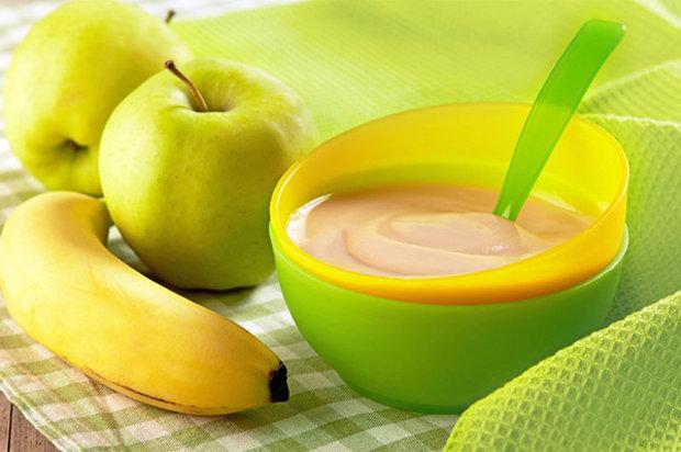 Банановое пюре для грудничка: пошаговый рецепт с фото
