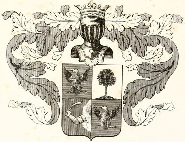 Герб дворянского рода Вешняковых