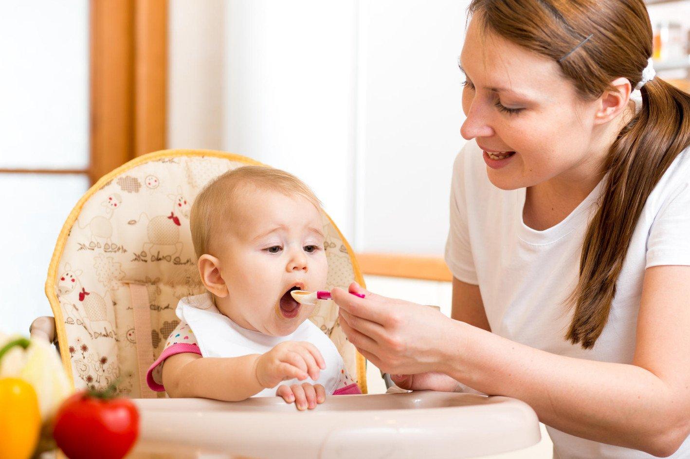 Прикорм в 7 месяцев: правила питания и меню на неделю ...